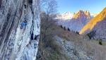 Zona rossa, nel cuore della Val Masino una nuova falesia e nuove vie d'arrampicata