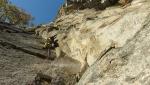 Las Cuerdas en el Viento alla Parete di Gallivaggio in Valle Spluga