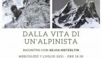 Silvia Metzeltin oggi a Udine per l'incontro Dalla Vita di Un Alpinista