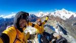 Nevado Huamashraju Este, new route in Peru by Iker and Enenko Pou
