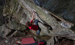 Adam Ondra repeats Gioia 8C+ at Varazze