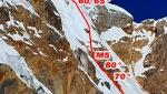 Nevado Sullcon South in Perù, nuova via di Steve Meder ed Edward Saona