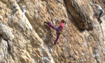 Eva Scroccaro, first 8a by the 12-year-old at Misja Pec