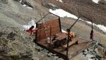 Smantellato il Bivacco Della Sassa - Ceresa in Alta Valpelline