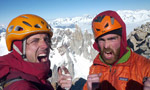 Fitz Roy East Face: Favresse and Villanueva interview