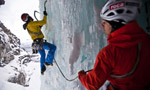 New ice climbs in Norway