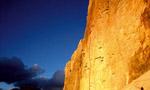 Tre Cime Lavaredo -  Riegler brothers climb Pellesier on Cima Grande