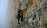 Donnafugata Torre Trieste, first free ascent by Mauro Bubu Bole