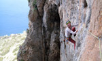 Inspiration, new multi-pitch on Telendos, Kalymnos