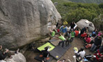 Codoleddu, bouldering area closed in Sardinia