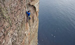 Dave Macleod frees The Long Hope Route on Hoy
