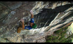 Sonnie Trotter finds The Path 5.14 R at Lake Louise, Alberta, Canada