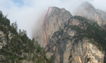 Via Palfrader, Col di Specie / Geierwand, Dolomiti