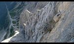 Ulina smer, major new route on Triglav