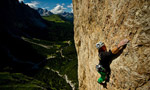 Das Privileg, new route on Piz Ciavazes, Dolomites