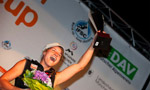 Bouldering World Cup 2011 won by Kilian Fischhuber and Anna Stöhr