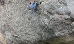 Neil Dyer adds Megalopa 8c+ to Lower Pen Trwyn, Wales