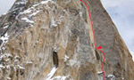 No Fear, new Russian route on Trango Nameless Tower