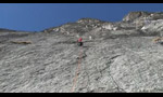Bernasconi e Pedeferri e la prima invernale della Spada nella Roccia, Qualido