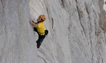 Hansjörg Auer remembers the Marmolada Fish route free solo