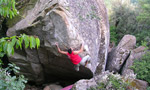 Pietra del Toro - bouldering in Southern Italy