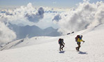 Not so far # 2, Hervé and Marco Barmasse climbing Monte Rosa