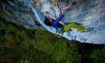 Barbara Raudner climbs Honig 8c