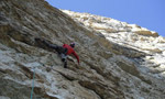Momento Libero, new route by Alessio Roverato on Sasso Rosso