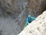 During the first ascent of Rien ne va plus (435m, 7b+ max, 7a obligatory, Christoph Hainz, Simon Kehrer 10/2013)