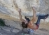 Chris Sharma attempting his project 'Perfecto Mundo' at Margalef, Spain