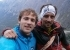 Jozef Kristoffy and Miso Bado while climbing 'Corona' at Jastrabia veza in Slovakia