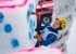 Angelika Rainer competing in the Ice climbing World Cup at Rabenstein, Italy
