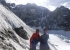 Tomas Franchini and Silvestro Franchini below the SE Face of Cerro Penitentes in Patagonia