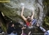 Barbara Zangerl climbing to victory at Melloblocco 2017