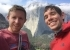 Tommy Caldwell and Alex Honnold, with El Capitan in Yosemite in the background