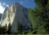 El Capitan in Yosemite con le vie The Salathé Wall, Muir Wall, The Shield, The Nose, Reticent Wall, Pacific Ocean Wall e North America Wall