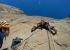 Taghia Gorge, Morocco: Iker Pou belayed by his brother Eneko while making the first ascent of Agur