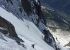 Nant Blanc Aiguille Verte: Paul Bonhomme and Vivian Bruchez ascending on 19/06/2018