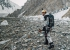 Andrzej Bargiel walking to base camp after his historic first ski descent of K2 on Sunday 22 July 2018