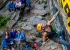During the climbing competiton at Valgrisenche, Valle d'Aosta on 02/09/2018