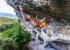 Eric Albertini climbing the 9a Pure Dreaming at Massone, Arco