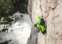 Simon Gietl making his solitary first ascent of Can you hear me?, Cima Scotoni, Dolomites
