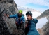 Asta Nunaat Greenland: Andrea Ghitti (left) ande Fabio Olivari (right) at a belay