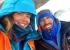Walker Spur Grandes Jorasses one-day winter ascent: Caro North and Carlos Molina