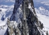 The 200m-high summit tower of Mount Waddington in Canada