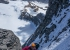 Simon Richardson high on the North Spur Mount Phillips in Canada, climbed with Ian Welsted
