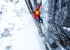 Ice climbing in Norway: Greg Boswell in action