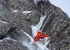 Ice climbing in Norway: Jeff Mercier in action