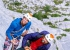 Nicolas Favresse and Sébastien Berthe climbing End of Silence on the Feuerhorn in Germany