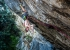 Adam Ondra resting with the kneebar on Beginning, Eremo di San Paolo, Arco